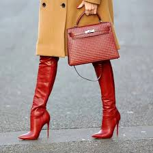 shoes red boots high heels boots over the knee boots over the knee thigh high