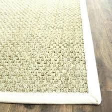 large sisal rugs round