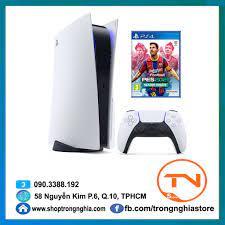 Máy PS5 Sony PlayStation 5 phiên bản ổ đĩa CHÍNH HÃNG Sony Việt Nam + Đĩa  game PES 2021 (PS4)