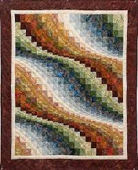 286 best Bargello Quilt images on Pinterest | DIY, Bag and Blankets & Bargello Wave Wall Hanging -fine quilting done by a local Amish woman. I  can not wait to make one of these, just looking for the perfect fabrics. Adamdwight.com