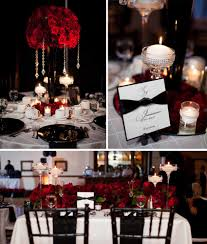 Black And Red Wedding Perfect For A Dawgs Wedding