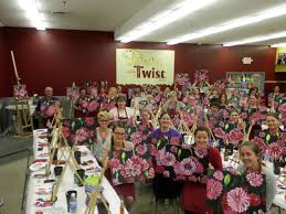 lansing mi painting with a twist had a fabulously fun and successful night raising over