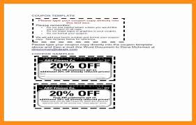 10 Off Coupon Template Free Coupon Template Word Stanley Tretick
