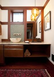 bathroom lighting over vanity. globe glass pendant lighting hung over vanity in the bathroom