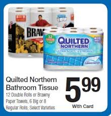 NEW Quilted Northern Coupon = $4.99 for 12 Double Rolls at Kroger ... & Quilted Northern Adamdwight.com