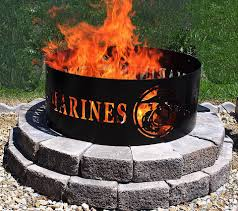fire pit enjoyable design metal fire pit ring corrugated 48 nice fireplaces throughout appealing 48