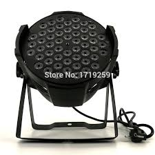 hot 2017 new led par can 54x3w rgbw color with 4 8 channels double hanging brackets fast par lighting stage light bar dj light lamp