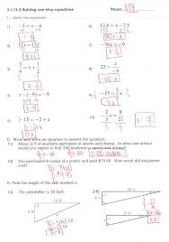 multiple step equations worksheeti and inequalities answers pre algebra practice solving worksheet multi with fractions decimals
