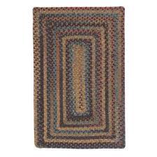 cabin fl burst 5 ft x 8 ft braided area rug fl burst whipple blue