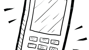 911 Coloring Page Phone Coloring Page Cell Phone Coloring Page Cell