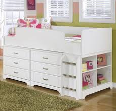 twin loft bed w loft drawer storage