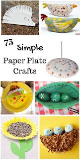 so many simple paper plate crafts for kids these paper plate crafts are perfect for