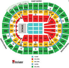 Rose Quarter Seating Chart With Rows Valid Rose Garden Arena Seating Chart Rose Garden Concert