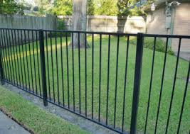 Metal Fence Installation Choose from Aluminum Steel or Iron