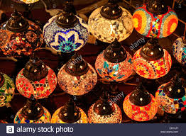 colored glass lighting. Colored Glass Lamps For Sale In Souk, Old Dubai, United Arab Emirates Lighting