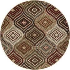 hampton contemporary beige 5 ft round area rug