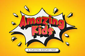 Amazing Kids Font By Stringlabs Creative Fabrica