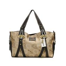 Cheap And Fashion Coach Logo In Monogram Medium Khaki Totes DNR Are Here!