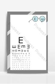 Eye Chart Template Download Fresh And Simple Eye Chart National Love Eye Day Background