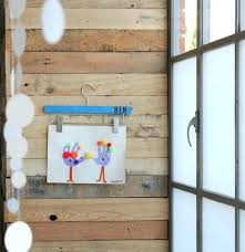 non permanent wall hooks ways to display kids artwork hang art with a decorated pants hanger non permanent wall hooks