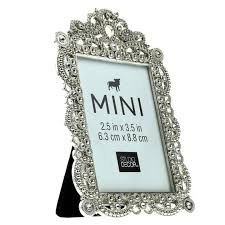 silver antique picture frames. Mini Antique Silver Frame With Jewels By Studio Decor, Picture Frames
