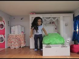 american girl doll house tour update also a trash can craft idea american girl furniture ideas