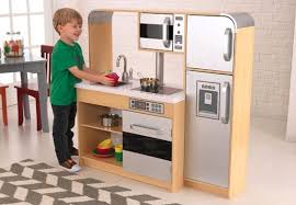 Wooden kitchen set for toddlers image .
