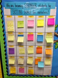 School Chart Work Ideas 4 Really Cool Ways Teachers Use Post It Notes In The
