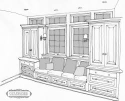 Kitchen Nook Table Built In Breakfast Nook Bench Plans No Windows Though Get Skinny