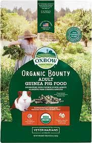Oxbow Organic Adult Guinea Pig Food 3 Lb Bag