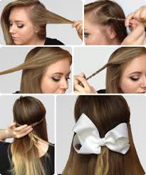 Bows In Hair Style 6 super easy hairstyles for finals week college fashion 3740 by wearticles.com
