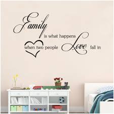aw9283 family love wall stickers english wall es vinyl home wall letter decals