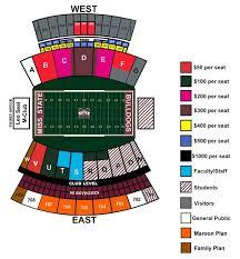 Davis Wade Stadium Seating Chart Davis Wade Stadium At Scott Field Seating Chart