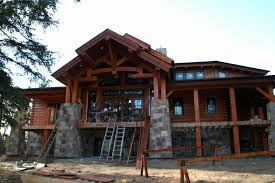 luxury 17 awesome small log homes plans timber frame house plans