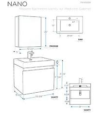 standard bathroom vanity height. Bathroom Medicine Cabinet Height Fresh On Regarding Delectable Vanity Dimensions Inspiration Standard