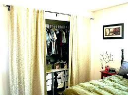 curtain closet curtains as closet doors curtain for closet door dorm
