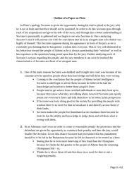 phl lecture notes phl lecture plato essay docx oneclass phl333 lecture 2 plato essay outline docx