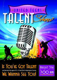 Talent Show Flyer United Teens Talent Show FYI 23