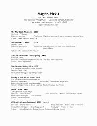 Resume Reference Format Fresh Resume Format For College Simple