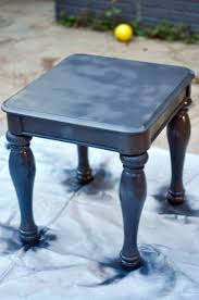 the easy way to chalk paint laminate furniture using only spray paint lamberts lately