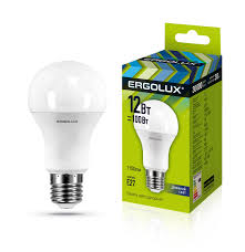 <b>Ergolux LED</b>-<b>A60</b>-<b>12W</b>-E27-6K (Эл.<b>лампа светодиодная</b> ЛОН ...