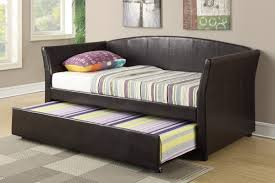 daybed with trundle. Amazon.com: Daybed With Trundle In Espresso Faux Leather By Poundex: Kitchen \u0026 Dining
