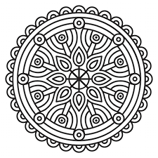 Small Picture Mandala Coloring Pages Mandalas For The Soul