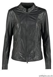 originality women s leather leather jackets jacket oakwood noir