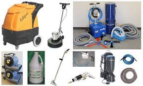 carpet cleaning supplies and tools