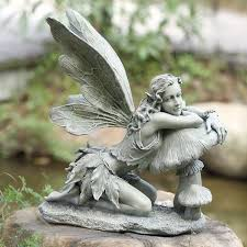 garden fairy figurines. Ordinary Garden Fairy Figurines 40 Stunningly Beautiful Statues Of Fairies And Angels For Your Home U0026 Al-Islah