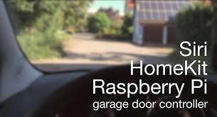action garage doorHomeKit garage door opener using a Raspberry Pi  in action  YouTube
