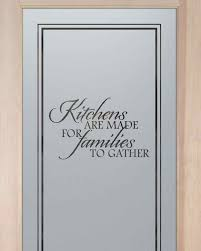 Frosted Glass Designs Kitchen Pantry Doors Etched Glass Pantry Door With Custom