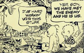POGO WALT KELLY WE HAVE MET THE ENEMY AND HE IS US fifasteluce.com