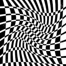Chequered Pattern Interesting Distorted Chequered Checkered Pattern With Rectangles And Squares